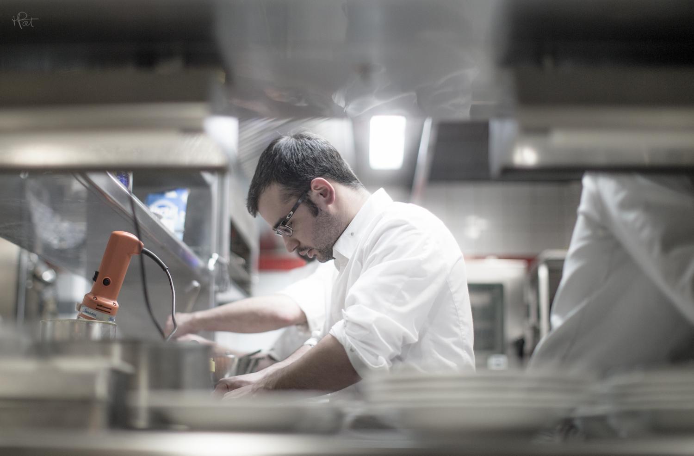 Oscar Garcia, chef étoilé au Michelin.