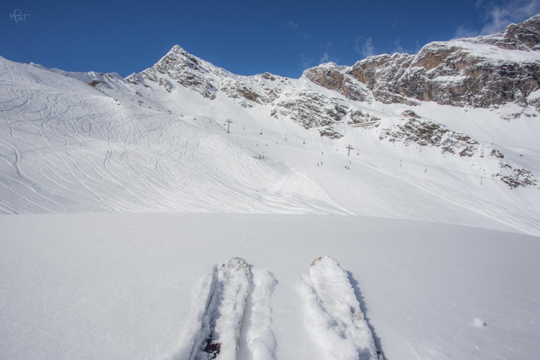 Histoire de se détendre... De magnifiques chutes de neige en mars.