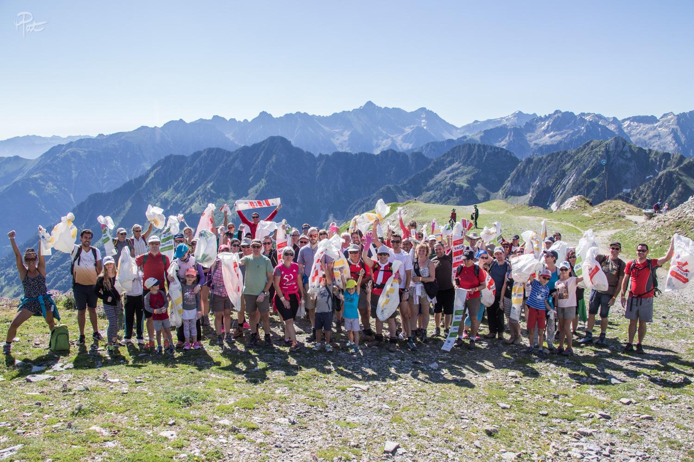 Montagne Propre ou quand un événement allie convivialité et sensibilisation au respect de la nature. Merci à tous.