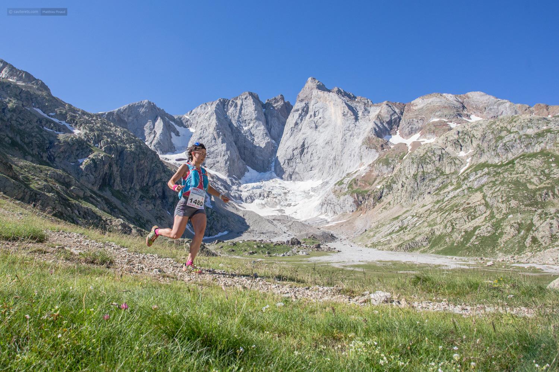 Safia-Lis remporte le 53km, elle passe en tête devant le Vignemale et à l'arrivée, bravo.