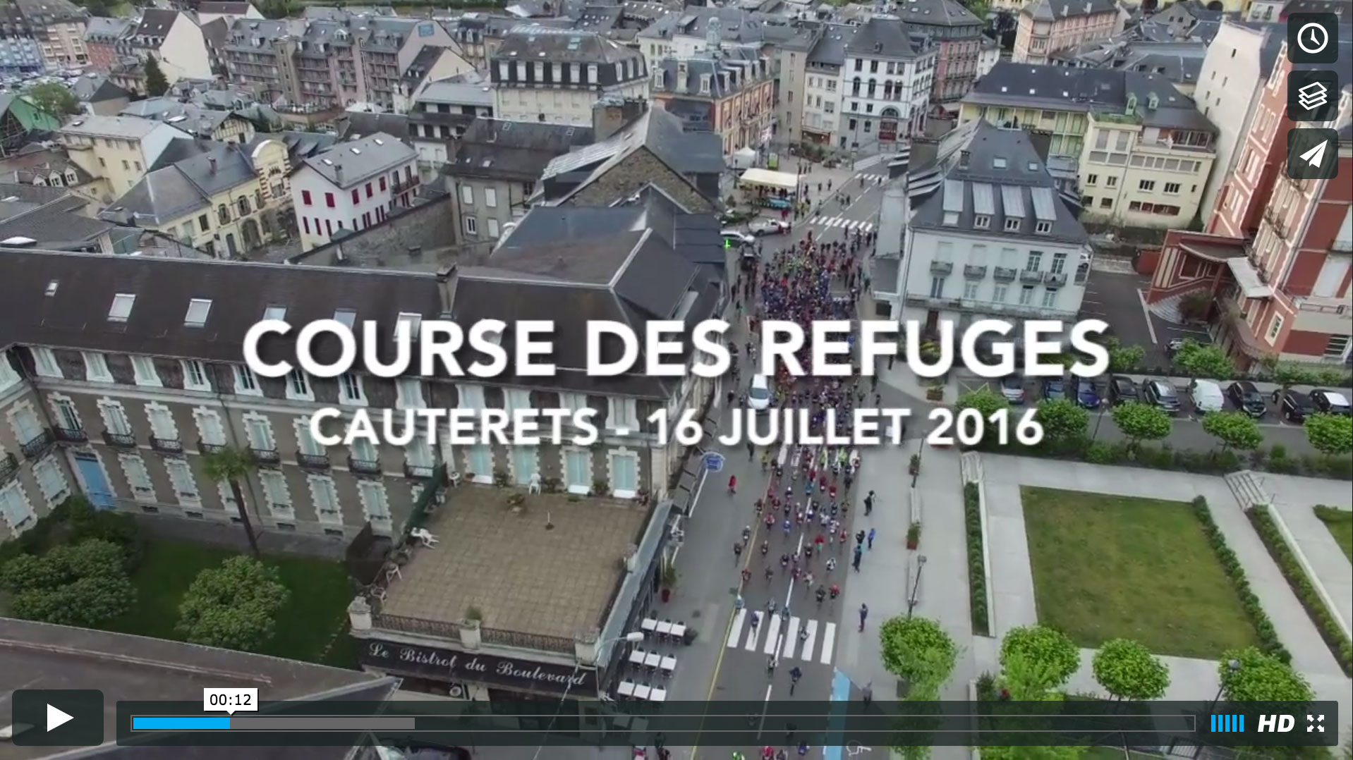 Course des Refuges 2016.