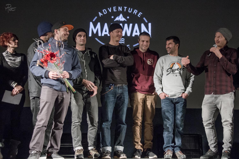 Adrien Coirier remporte le prix du public pour son film Maewan.