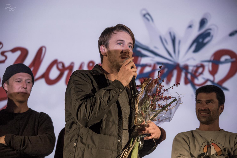 Julien Mazard est récompensé du meilleur court pyrénéen.