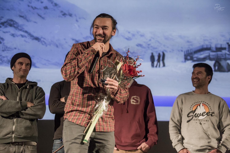 Johannes Hoffman a bien fait de venir à Cauterets, il gagne le prix du meilleur court métrage.
